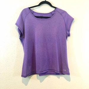 Purple Champion Dry-Fit Active Tee